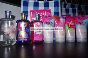 Shower Gels and Shower Cream
